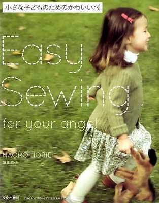 Easy Sewing For Your Angel - Japanese Dress Pattern Book