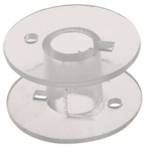 25-Clear-Plastic-Sewing-Machine-Bobbins-for-Fits-Singer-Janome-Toyota-FP