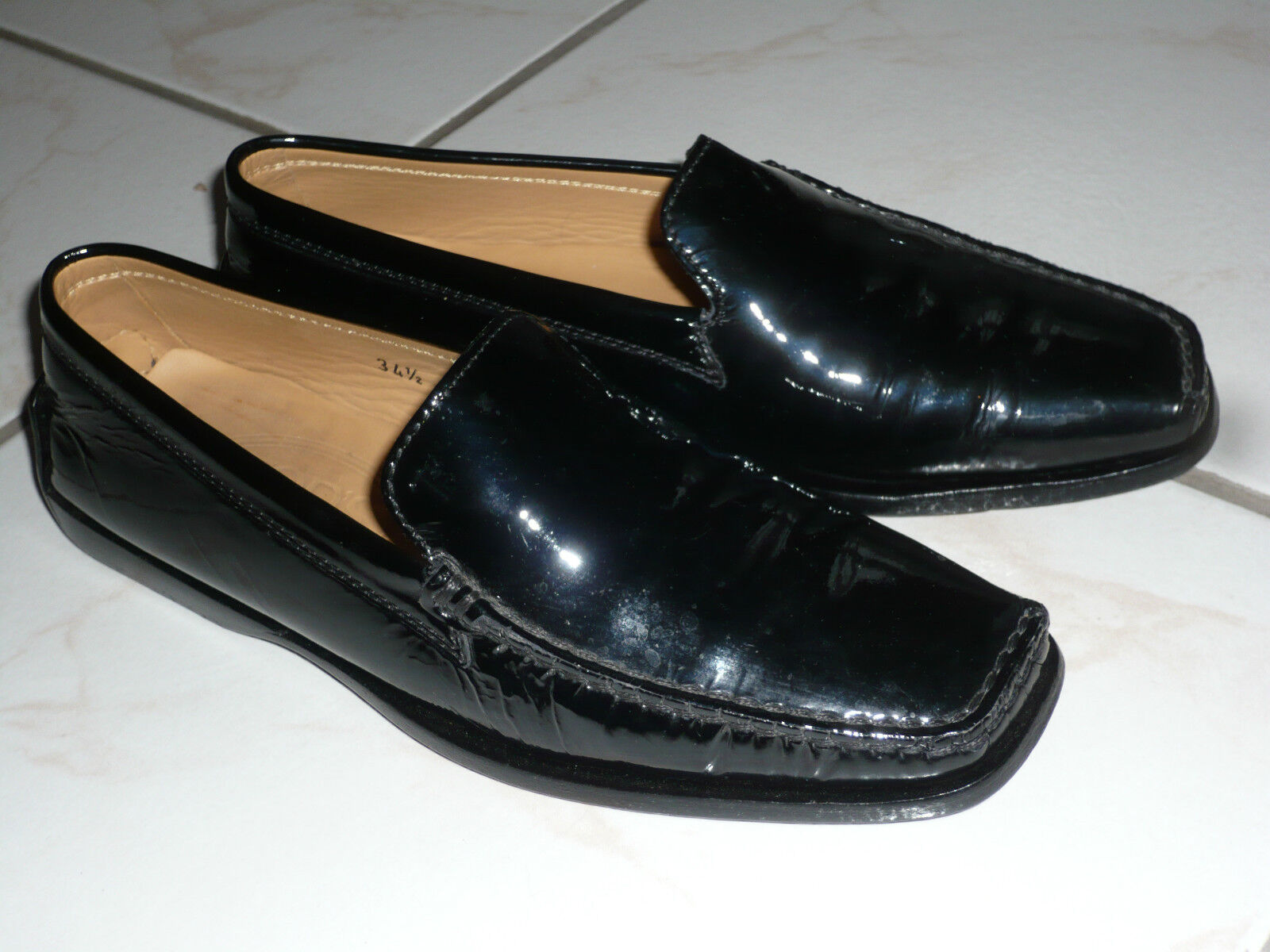 Mocassin Polish Black TOD'S T. 34,5 ( 35,5 french)