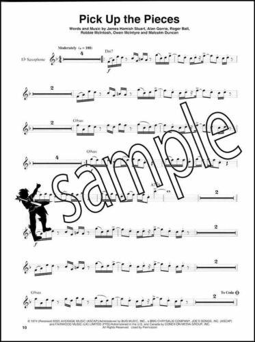 R/&B Saxophone Play-Along Alto Sax Music Book//Audio Backing Tracks Rhythm Blues
