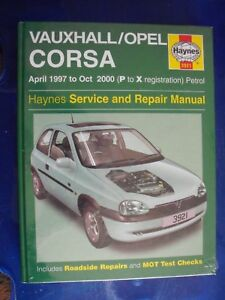new haynes workshop manual vauxhall corsa 97 00 petrol gsi corsavan rh ebay co uk Renault Megane Coupe Body Kit Suzuki Swift