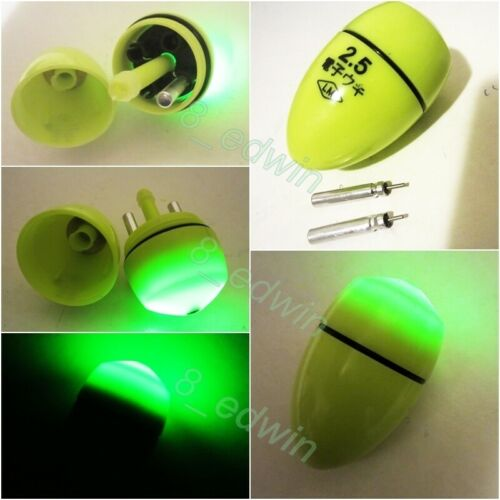 Batteries Local Ship Set Popular 5 Type Aussie Anglers Led Night Fishing Floats