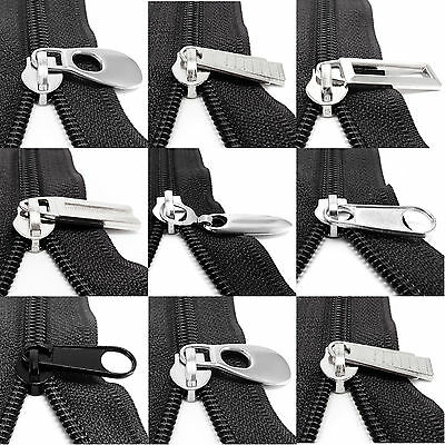 Slider pull for PVC spiral zip zipper puller repair replace kit