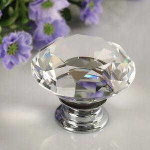 30mm-Diamond-Clear-Crystal-Glass-Door-Drawer-Knob-Handle-Cabinet-Furniture-GOOZZ