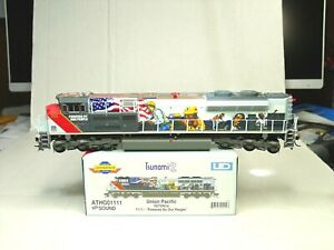 ATHEARN GENESIS HO SD70ACe LOCO  DCC-SOUND UP POWERED BY THE PEOPLE  ATHG01111