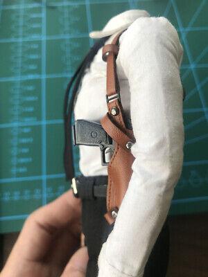 """MGToys 1//6 Shoulder Holster Gun Holder Strap Gun Pistol for 12/"""" Action Figure"""
