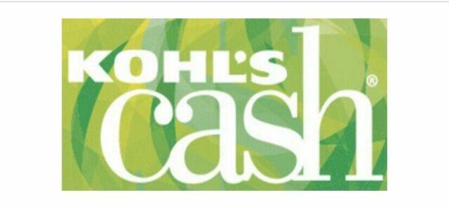 ($30) Kohls Cash Kohl's Cash Valid 5/19/2020 - 6/10/2020 (email delivery)