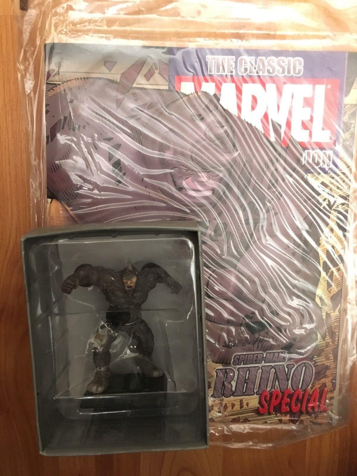 Marvel 'sammlung sonderausgabe nashorn eaglemoss abbildung + magazine