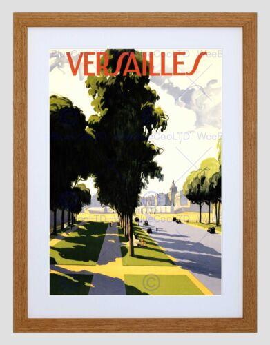 TRAVEL TOURISM VERSAILLES PALACE PARIS FRANCE NEW FRAMED ART PRINT B12X10615