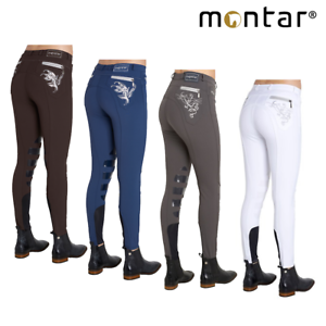 Montar Bamboo Ladies Silicone Knee Patch Breeches