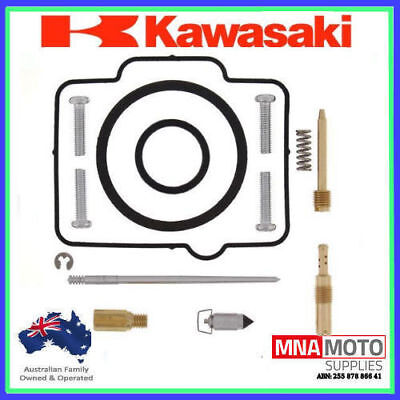 Carburetor Carb Repair Rebuild Kit Kawasaki KDX200 KDX 200 1998-2006 2-Stroke
