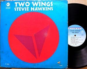 BLACK-GOSPEL-LP-STEVIE-HAWKINS-Two-Wings-CHECKER-LP-10024-mono