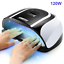 120W-UV-LED-Lamp-For-Nails-Dryer-Two-Hand-Ice-Lamp-54-LEDSFor-Manicure-Gel-Nail thumbnail 1