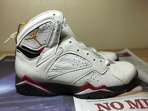 5c956c46ccac4f NIB Rare 1992 Nike Air Jordan 7 OG not Retro Cardinal US 9 White Red ...