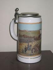 Richard Borek Oktoberfest 1810 Horse Race Lidded Beer Stein/Mug-Germany