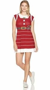 Image is loading Ugly,Christmas,Sweater,Women,039,s,Mrs,Claus,