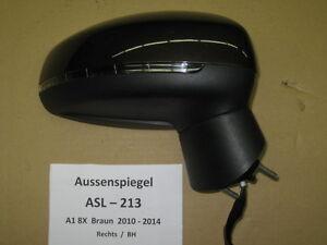 AUDI-A1-8X-en-dehors-de-Miroir-retroviseur-lateral-DROITE-asl213