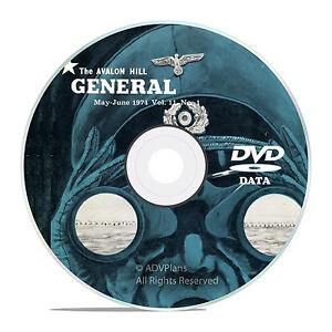 The-General-Magazine-Avalon-Hill-All-200-issues-Bonus-Complete-Set-DVD-V39