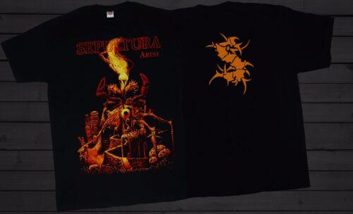 Brazilian heavy metal band SEPULTURA Arise T/_shirt-SIZES:S to 6XL