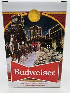 2020 Budweiser Holiday Stein Limited Edition 41st Anniversary Bud Mug  FREE SHIP