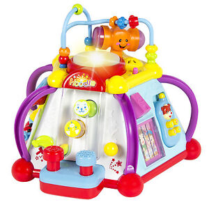 Baby-Toy-Musical-Activity-Cube-Play-Center-with-Lights-15-Functions-amp-Skills