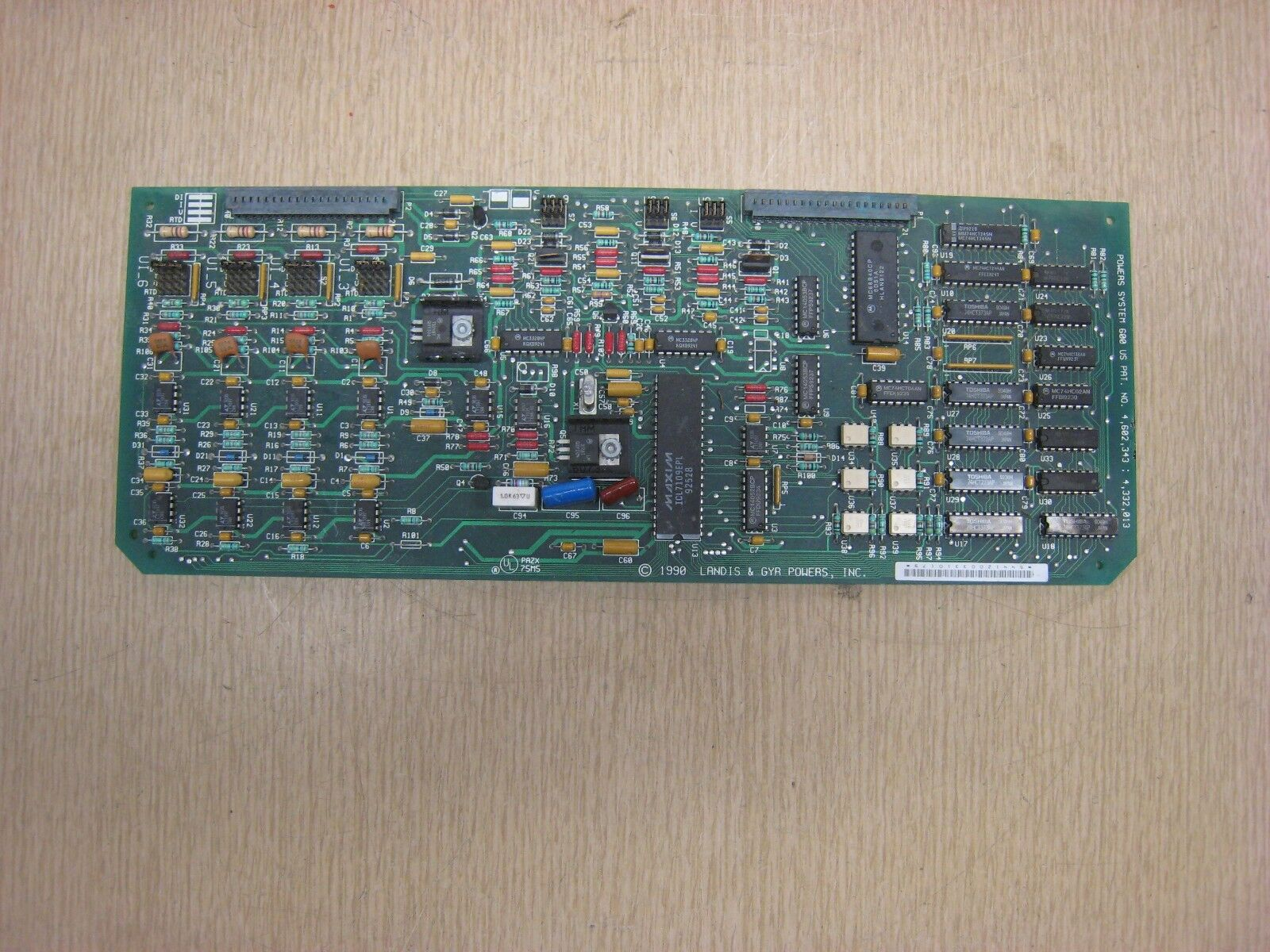 LANDIS & GYR POWERS PAZX-75M5 POWERS SYSTEM 600 CONTROL BOARD