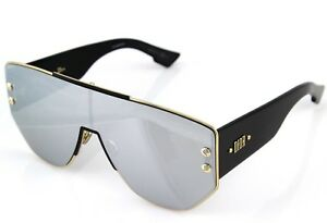 d5fc749c04 NEW Genuine CHRISTIAN DIOR ADDICT 1 Gold Black Shield Mirror ...