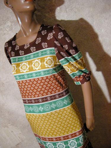 70er 38 True Abito Vintage Dress 70s Vtg 36 Robe Kleid 1970 Longue Maxi Chic wRFqvOF