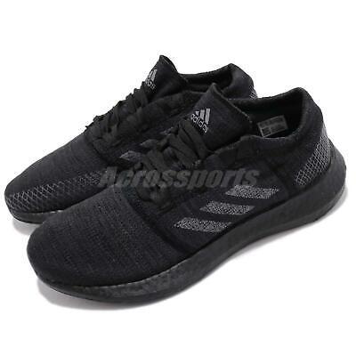adidas PureBOOST GO Black Grey Carbon