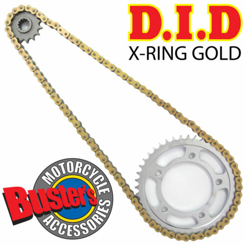 1050 Speed Triple 11 DID X-Ring Gold Chain and Sprocket Kit