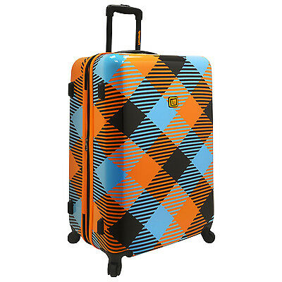 "Loudmouth Microwave 29"" Hardside Expandable Spinner Suitcase Luggage Travel Bag"