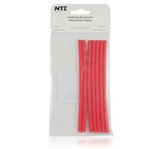 "NTE Electronics 47-25106-R Heat Shrink 3//16/"" Dia W//adhesive Red 6/"" Length 7pcs"