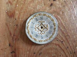 Pocket-Watch-Quadrante-Sfera-Da-Orologio-Tasca-Antique-Metallo-3-CM