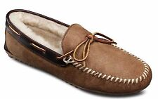 Allen Edmonds Men's Sandman Sheepskin Shearling Slippers Loafers Natural 12