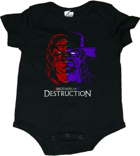 Wrestling Brothers Of Destruction Baby Bodysuits//Creepers