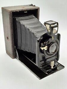 Ernemann Heag Model 00 6.5 x 9cm Folding camera.
