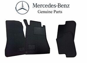 Mercedes Benz CLK Class Carpet Floor Mats 4 PC for 2003-2009 Black Gray or Beige