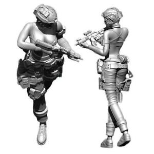 1-35-Special-Forces-Kriegerin-Resin-Model-X2G6
