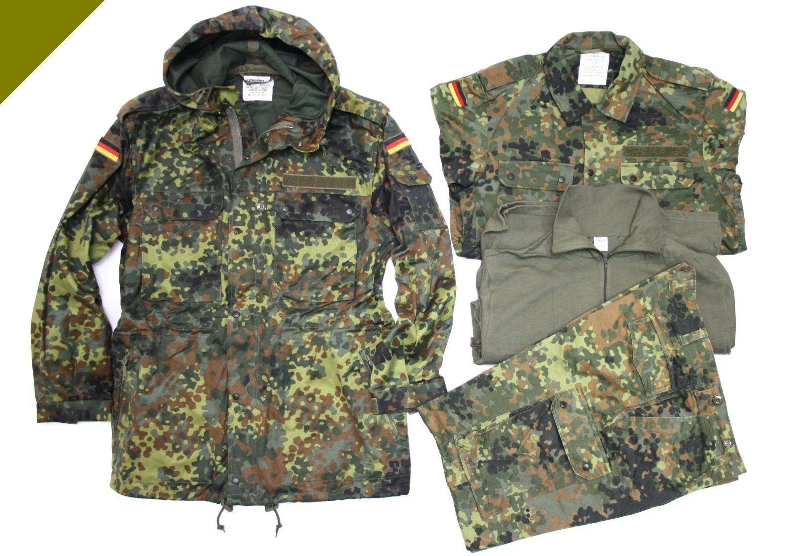 BW Armée Original parka M nourriture Camouflage BW veste tropique OTAN Gotcha