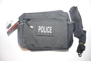 Details about POLICE BAIL OUT BAG GO BAG/CASE BUG OUT BAG RANGE BAG WITH  SHOULDER STRAP NEW!
