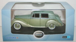 Oxford-Diecast-1-43-Scale-Metal-Model-BN6002-Bentley-MK-VI-Balmoral-Green