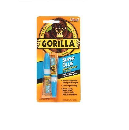 Gorilla Adhesión Superpegamento Pack Doble - 2x 3g Tubos