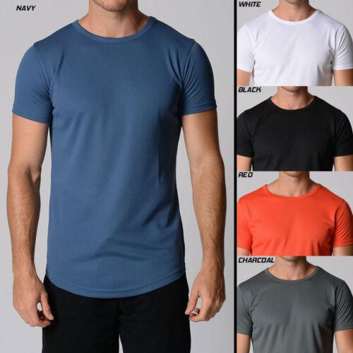 Mens POLY Training Top DRY Performance T-shirt ANTI SWEAT MACRI 2-Item PACK