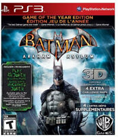 Batman: Arkham Asylum (game Of The Year Edition)(ps3)