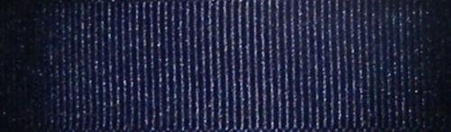 25mm Berisfords Navy Blue Grosgrain Ribbon 20m Reel
