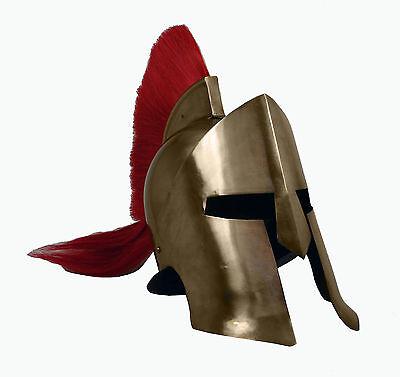 Leonidas Helm Ritter Königshelm Sparta Rüstung Larp Troja Mittelalter sca R201R