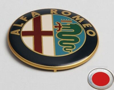 ALFA ROMEO Emblem Scudetto Front Kühlergril Heckklappe 147 156 159 166 MITO