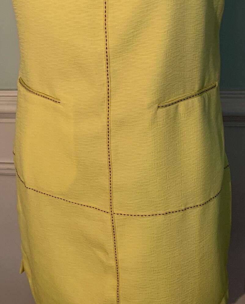 Esley bright yellow cold shoulder dress size medi… - image 3