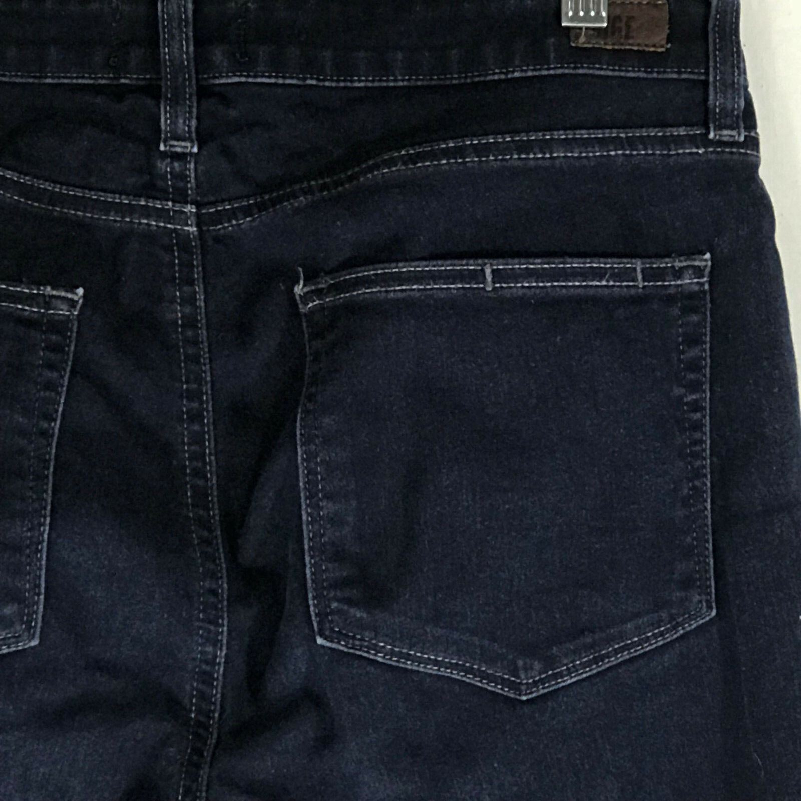 Paige High Rise Bell Canyon Boot Cut Jeans Size 30
