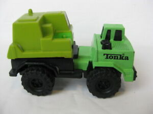 Vintage-1994-Tonka-Green-Plastic-Construction-Vehicle-Truck-collectible-toy-Farm